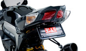 YOSHIMURA 070BG111801 FENDER ELIMINATOR KIT  LICENSE PLATE LED LIGHTS BLACK ALUMINUM FRAME SUZUKI GSXR1000 GSXR 1000 GSXR-1000 GSX-R1000  09 10 11 12 2009 2010 2011 2012 13 2013 14 2014 15 2015 16 2016