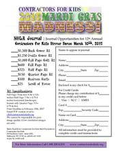 NOLA Journal Business Card Ad