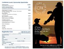 2017 Golf Outing Golf Cart Sponsor