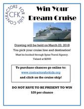 2018 Cruise Raffle
