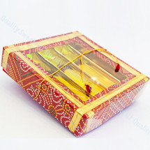 Small Red and Gold Gift Box
