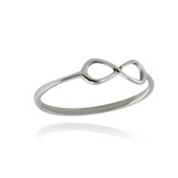 Dainty Infinity Ring - 925 Sterling SIlver