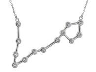 Pisces Constellation Necklace - 925 Sterling Silver