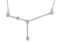Cancer Constellation Necklace - 925 Sterling Silver