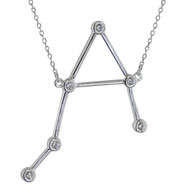 Libra Constellation Necklace - 925 Sterling Silver