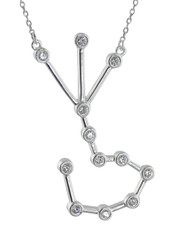 Scorpio Constellation Necklace - 925 Sterling Silver