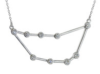 Capricorn Constellation Necklace - 925 Sterling Silver