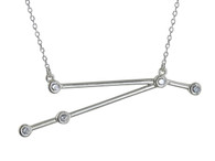 Aries Constellation Necklace - 925 Sterling Silver
