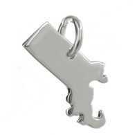 Massachusetts State Charm - 925 Sterling Silver