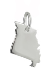 Missouri State Charm - 925 Sterling Silver