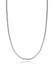 """Spiga Wheat Chain - 925 Sterling Silver 1mm Italy 16""""-30"""" NEW Italian"""