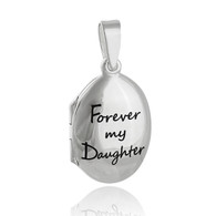 Forever My Daughter Locket