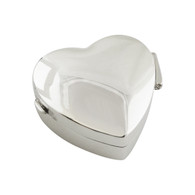 Heart Pill Box or Keepsake Case - 925 Sterling Silver