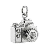 Camera 3D Charm - 925 Sterling Silver