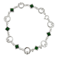 Claddagh Bracelet - 925 Sterling Silver