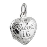 Sweet 16 Locket  - 925 Sterling Silver
