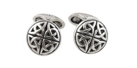 Celtic Knot Cuff Links - 925 Sterling Silver