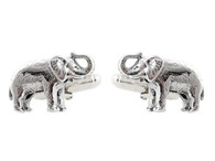 Elephant Cuff Links - 925 Sterling Silver