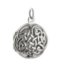 Celtic Knot Locket - 925 Sterling Silver