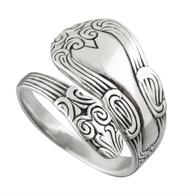 Fancy Spoon Ring - 925 Sterling Silver