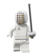 LEGO® Mini-Figures Series 13 - Fencer