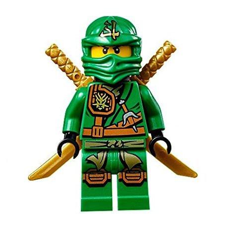 LEGO® Ninjago™ Minifigure - Zukin Robes Lloyd with Dual Gold Swords ...