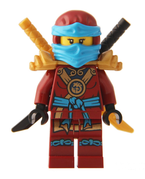 LEGO® Ninjago™ Minifigure - Deepstone Robes Nya with 2 Swords - The ...