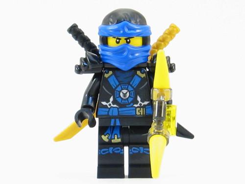 LEGO® Ninjago™ Jay Deepstone Minifigure 2015 with Aeroblade - The ...