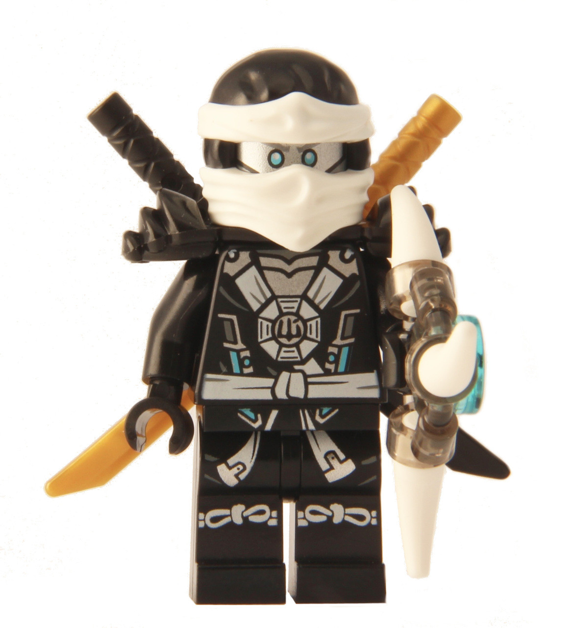 Lego ninjago zane deepstone minifigure 2015 with - Ninjago lego zane ...
