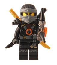 LEGO® Ninjago™ Cole Deepstone Minifigure 2015 with Aeroblade