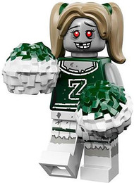 LEGO® Mini-Figures Series 14 - Zombie Cheerleader