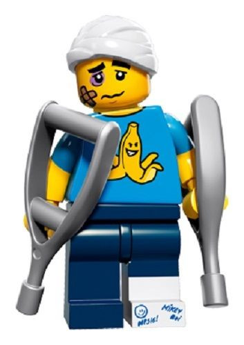 Image result for lego cmf clumsy guy