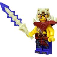 LEGO® Ninjago™  Zugu Minifig with Bone Sword and Crossbow