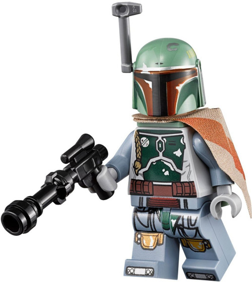 LEGO Star Wars Boba Fett With Blaster From The Brick - 25 2 lego star wars minifigures han solo han in carbonite blaster