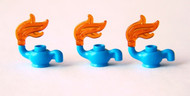 LEGO®  3x Blue Teapots - Very Small