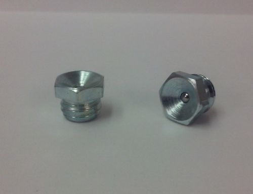 M10 x 1.5mm Flush Straight Metric Grease Fitting