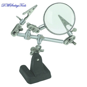 FLY FISHING VISE CLAMPS AND LENS WITH STAND FREE SHIPPING