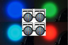 Chauvet (4) slimPar38 LED lights $20 Instant Coupon use Promo Code: $20-OFF