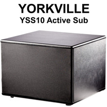 "YORKVILLE YSS10 Active 10"" 250w Studio Sub $20 Instant Coupon Use Promo Code: $20-OFF"