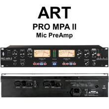 ART PRO MPA-II 2 Channel Rackmount Mic Preamp $15 Instant Coupon Use Promo Code: $15-Off