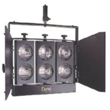 Dexel minibrut 6 par36 studio light audience blinder with barndoors $30 Instant Coupon use Promo Code: $30-OFF