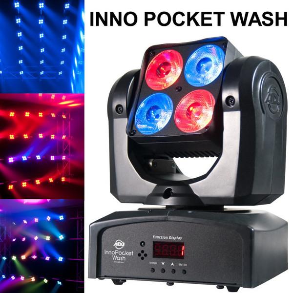 american dj inno pocket wash intelligent moving light 10 instant