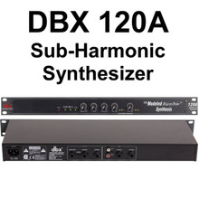 DBX 120A Sub-Harmonic Synthesizer Processor $10 Instant Coupon Use Promo Code: $10-OFF