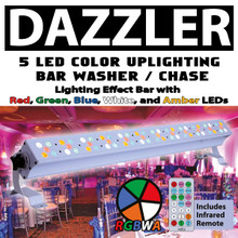 XStatic DAZZLER Multi-Color 60 LED Wash Light $10 Instant Coupon Use Promo Code: $10-OFF