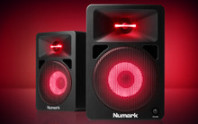 NUMARK NWAVE 580L Illuminated LED Nearfield Reference Monitor Pair $5 Instant Coupon use Promo Code: $5-OFF