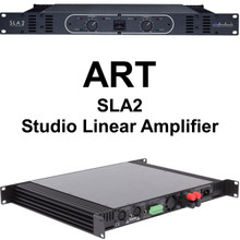 ART SLA2 560w Bridged Linear Studio Amplifier 110v or 220v $20 Instant Coupon Use Promo Code: $20-Off