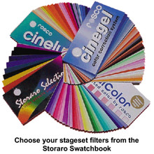 "Storaro Pre-Cut 4"" X 4"" Custom Color Filters From The Best Sellers List"