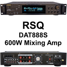 RSQ dat888s 600w karaoke mixing Amplifier $10 Instant Coupon use Promo Code: $10-OFF