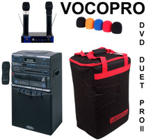 VocoPro dvd duet Pro II portable wireless karaoke system $30 Instant Coupon use Promo Code: $30-OFF