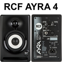 RCF ayra 4 nearfield reference studio computer monitors $10 Instant Coupon use Promo Code: $10-OFF